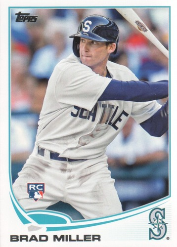 Photo of 2013 Topps Update #US224 Brad Miller RC