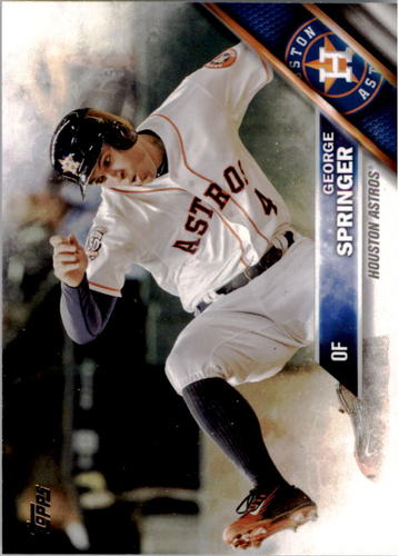 Photo of 2016 Topps #53A George Springer