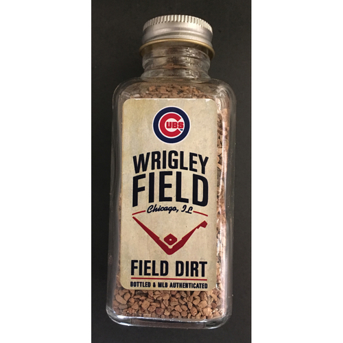 Photo of 2019 Wrigley Field Opening Day Game-Used Dirt -- Cubs Win 10-0 over Pittsburgh Pirates -- 4/8/19