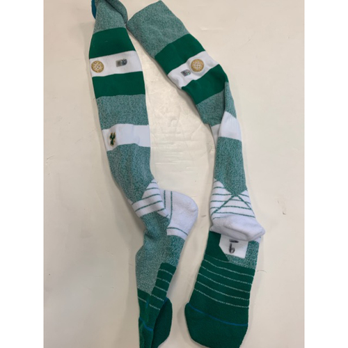 Photo of Team-Issued Green Socks: Nicholas Castellanos