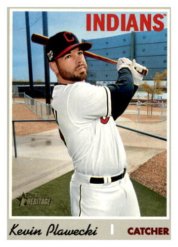 Photo of 2019 Topps Heritage #670 Kevin Plawecki