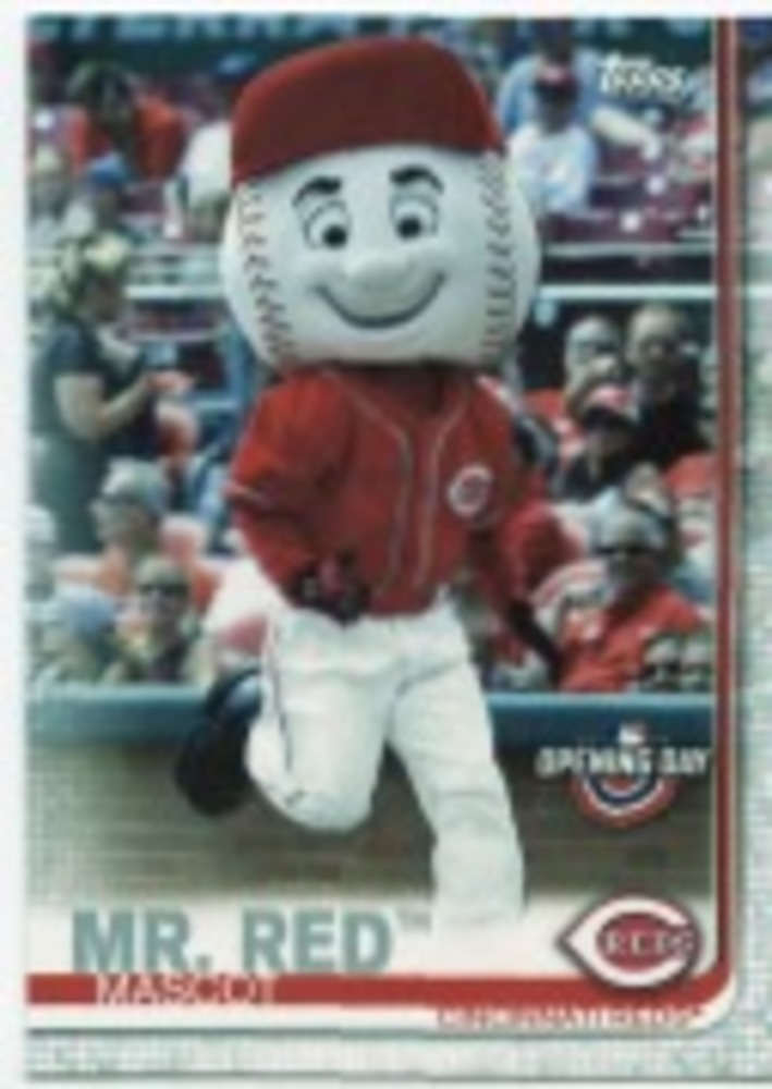 2019 Topps Opening Day Mascots #M16 Mr. Red