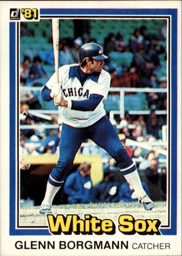 Photo of 1981 Donruss #159 Glenn Borgmann