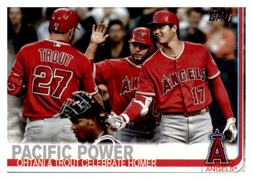 Photo of 2019 Topps Update #US189 Mike Trout/Shohei Ohtani
