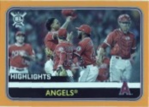 Photo of 2020 Topps Big League Orange #299 Los Angeles Angels HL