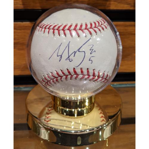 Tzu-Wei Lin #5 Autographed Baseball