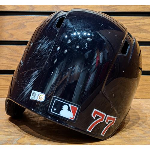 Photo of #77 Team Issued Batting Helmet