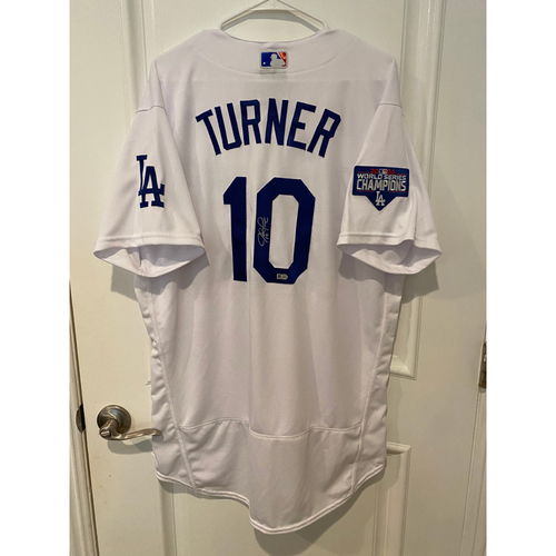 Justin Turner Autographed Authentic Los Angeles Dodgers Jersey