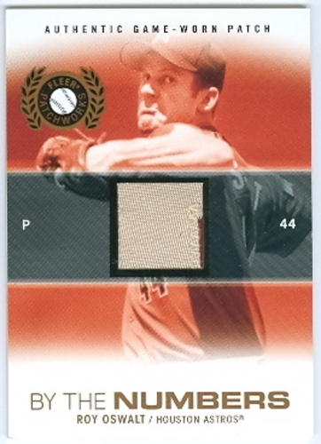 Photo of 2005 Fleer Patchworks By the Numbers Patch #RO Roy Oswalt