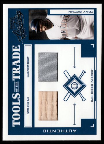 Photo of 2004 Absolute Memorabilia Tools of the Trade Material Combo #143 T.Gwynn A Bat-Jsy/250