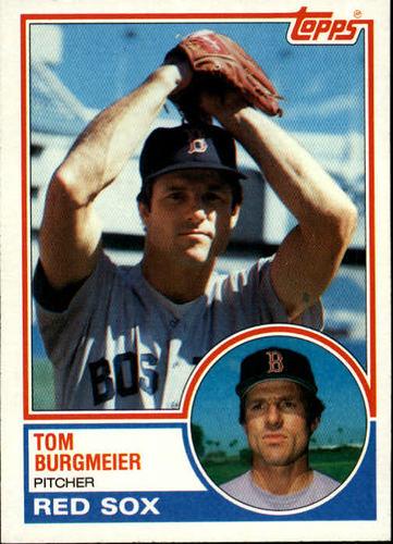 Photo of 1983 Topps #213 Tom Burgmeier