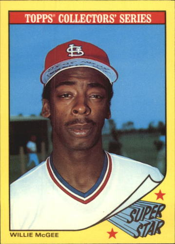 Photo of 1986 Woolworth's Topps #21 Willie McGee