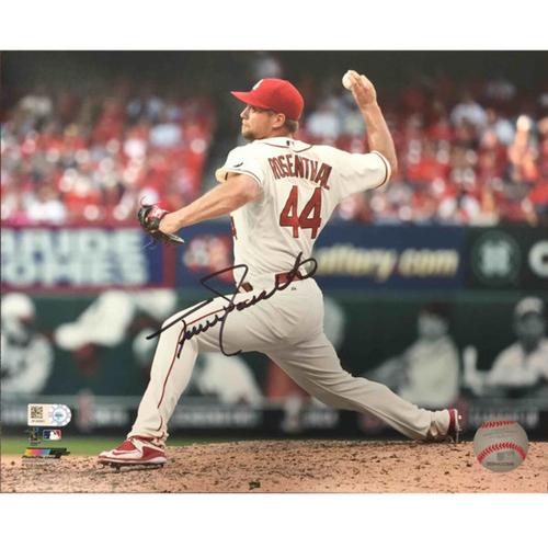 Cardinals Authentics: Trevor Rosenthal Autographed  Photo