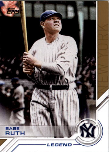 Photo of 2017 Topps Salute #S52 Babe Ruth