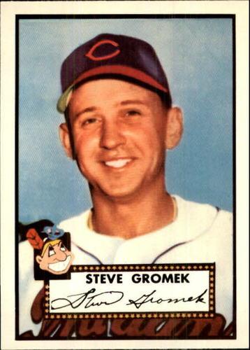 Photo of 1983 Topps 1952 Reprint #258 Steve Gromek