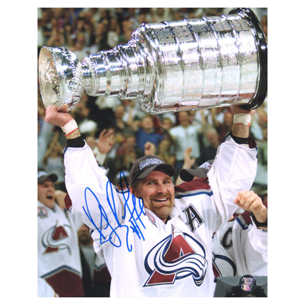 Ray Bourque Autographed Colorado Avalanche 16X20 Photo