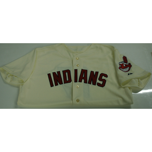 Photo of Abraham Almonte Team-Issued 2016 Alternate Home Jersey