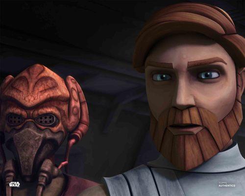 Obi-Wan Kenobi and Plo Koon