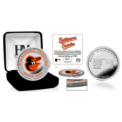 Photo of Baltimore Orioles  Silver Color Coin
