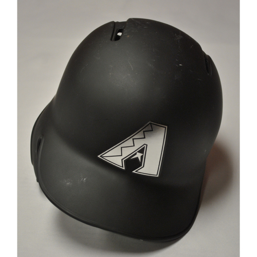 "Photo of Jake ""LAMBO"" Lamb Arizona Diamondbacks Game-Used 2019 Players' Weekend Helmet"