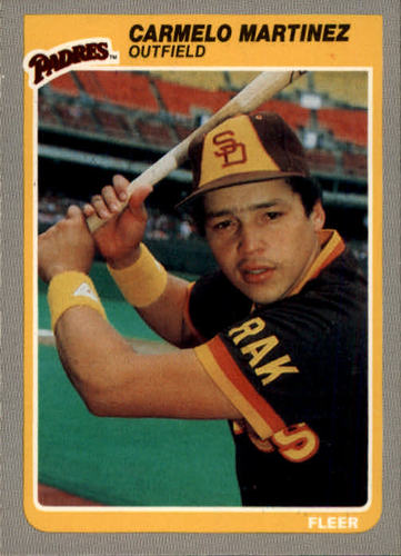 Photo of 1985 Fleer #40 Carmelo Martinez