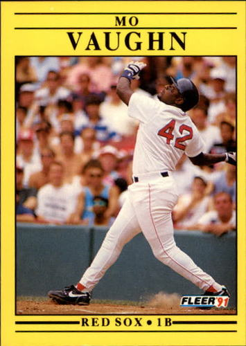 Photo of 1991 Fleer Update #7 Mo Vaughn