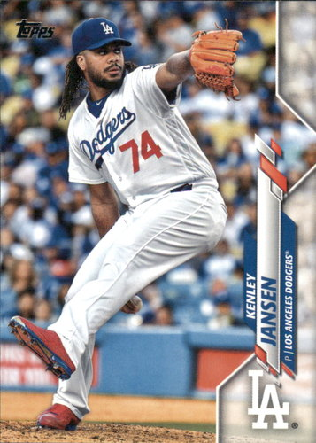 Photo of 2020 Topps #24 Kenley Jansen