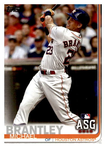 Photo of 2019 Topps Update #US232 Michael Brantley AS