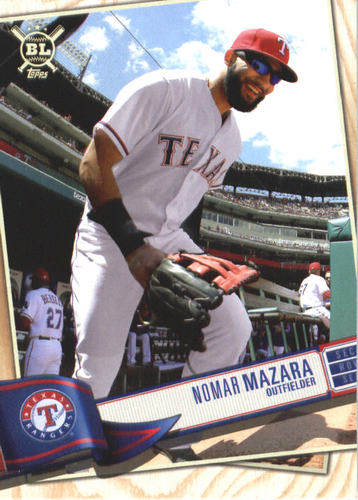 Photo of 2019 Topps Big League #223 Nomar Mazara