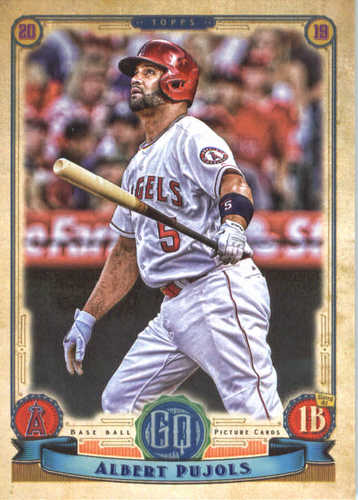 Photo of 2019 Topps Gypsy Queen #298 Albert Pujols