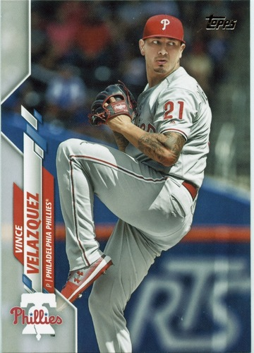 Photo of 2020 Topps #402 Vince Velazquez