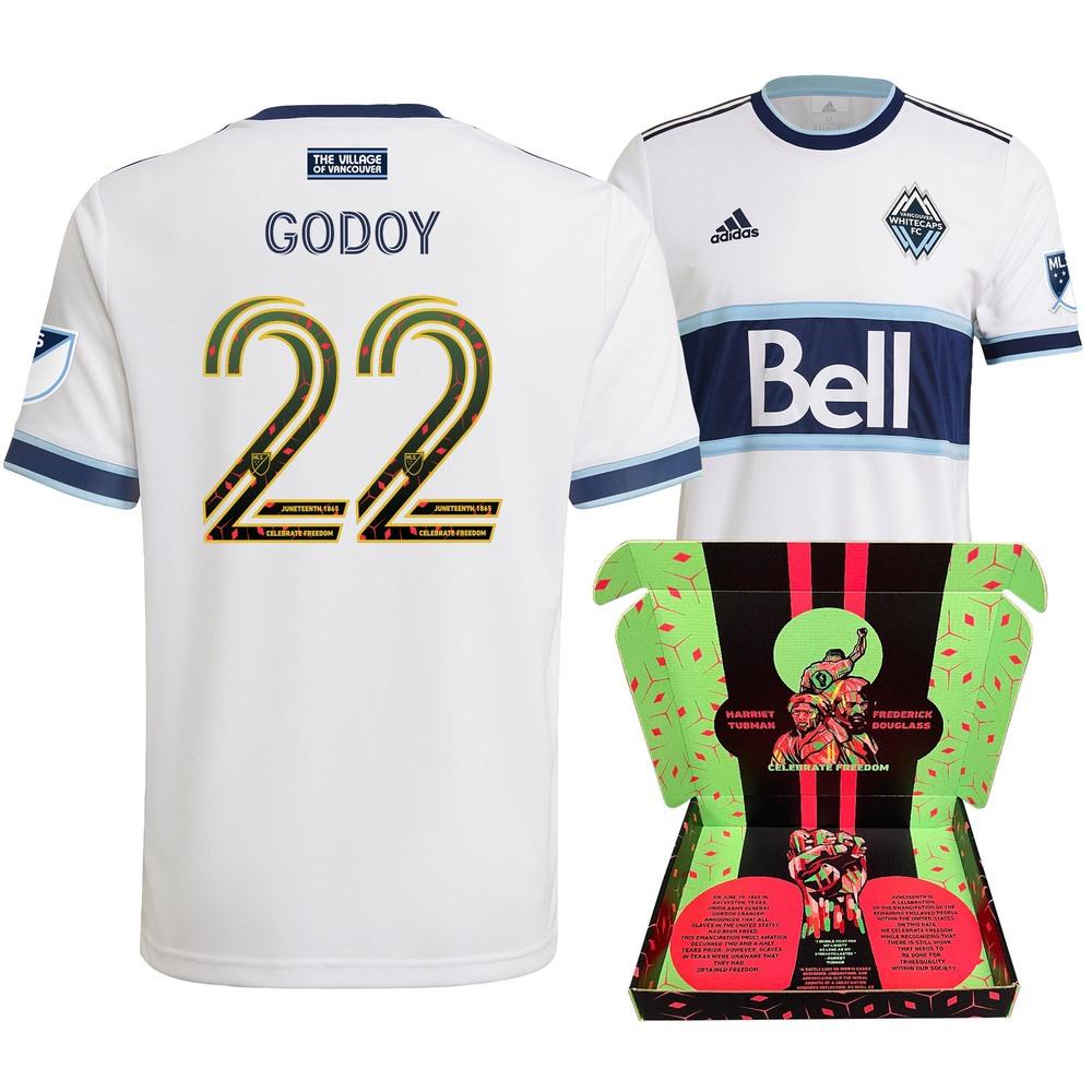 Erik Godoy Vancouver Whitecaps FC Match-Used & Signed