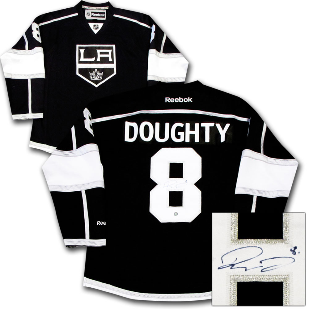 Drew Doughty Autographed Los Angeles Kings Jersey