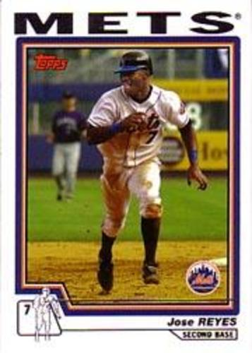 Photo of 2004 Topps #520 Jose Reyes