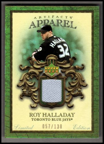 Photo of 2007 Artifacts MLB Apparel Limited #HA Roy Halladay