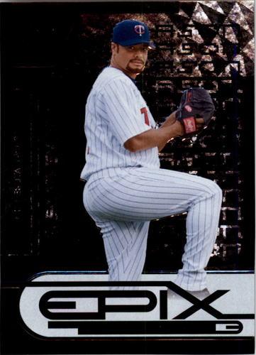Photo of 2005 Zenith Epix Black Season #3 Johan Santana