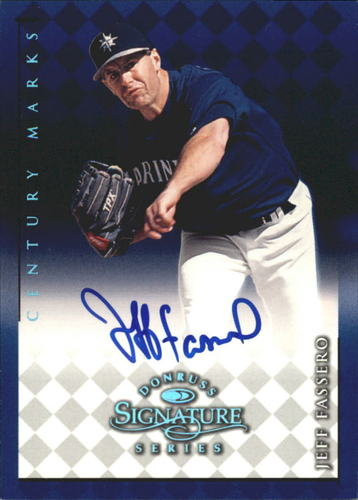 Photo of 1998 Donruss Signature Autographs Century #40 Jeff Fassero