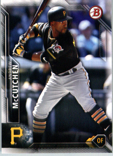 Photo of 2016 Bowman #68 Andrew McCutchen