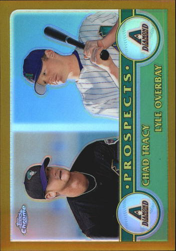 Photo of 2003 Topps Chrome Gold Refractors #434 C.Tracy/L.Overbay