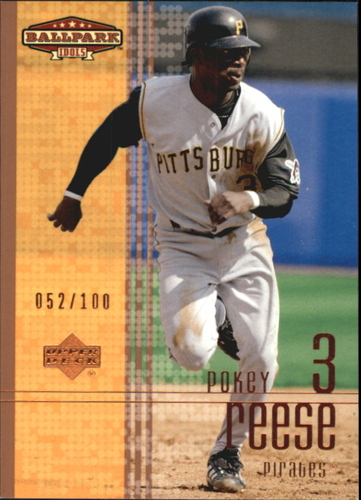 Photo of 2002 Upper Deck Ballpark Idols Bronze #182 Pokey Reese