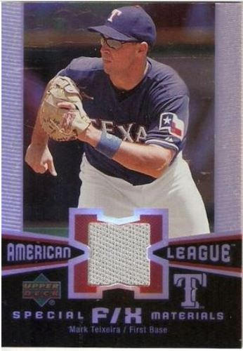 Photo of 2006 Upper Deck Special F/X Materials #MT Mark Teixeira Jersey