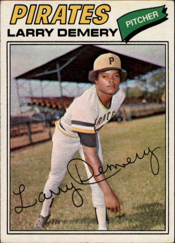 Photo of 1977 Topps #607 Larry Demery