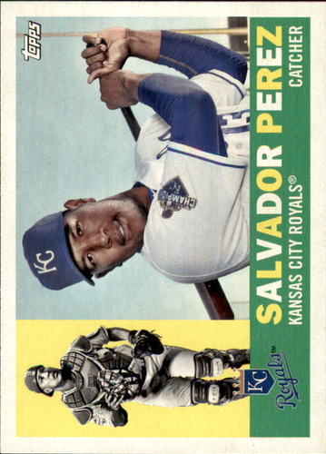 Photo of 2017 Topps Archives #88 Salvador Perez