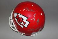 NFL - CHIEFS MULTI SIGNED PROLINE HELMET (W/ ALEX SMITH, TYREEK HILL, DUSTIN COLQUITT, D.J. ALEXANDER)