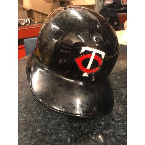 2017 Game-Used Helmet - Jason Castro