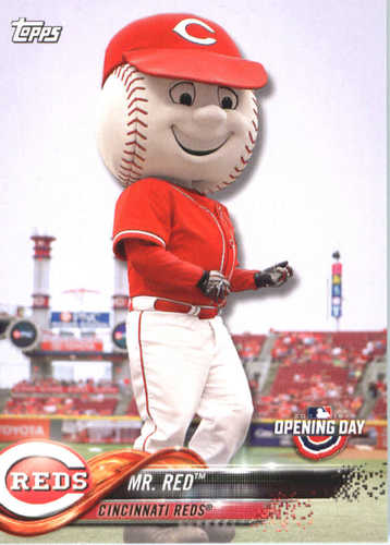 Photo of 2018 Topps Opening Day Mascots #M6 Mr. Red