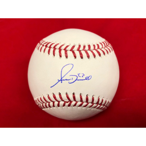 Photo of Adam Duvall -- Autographed Baseball