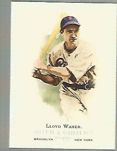 Photo of 2006 Topps Allen and Ginter #271 Lloyd Waner -- Hall of Fame Class of 1967