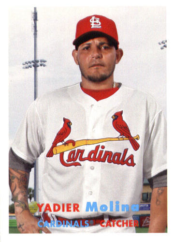 Photo of 2015 Topps Archives #59 Yadier Molina