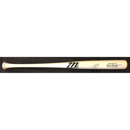 Photo of Manny Machado - Player Model Bat: Autographed